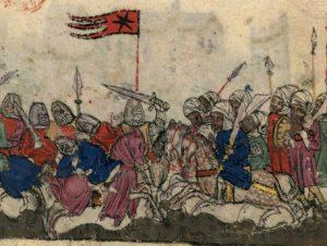 מלחמת ששת הימים ברמת הגולן, גרסת הראשידון – הסהר נגד הצלב